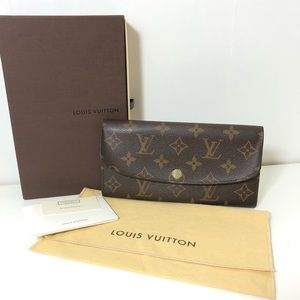 Authentic Louis Vuitton Emilie Long Wallet